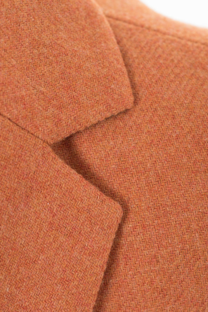 Va Va Voom Jacket – Light Orange – Made in England