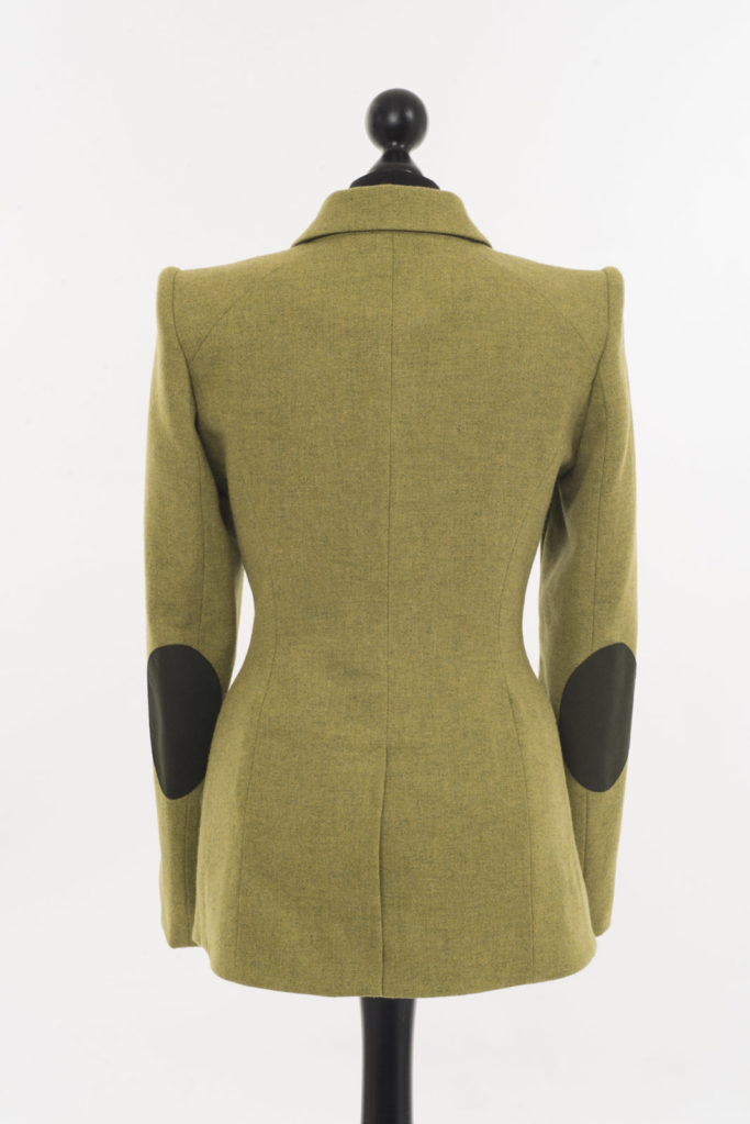 Va Va Voom Jacket – Chartreuse – Made in England