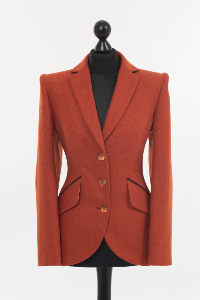 Va Va Voom Jacket – Burnt Orange – Made in England