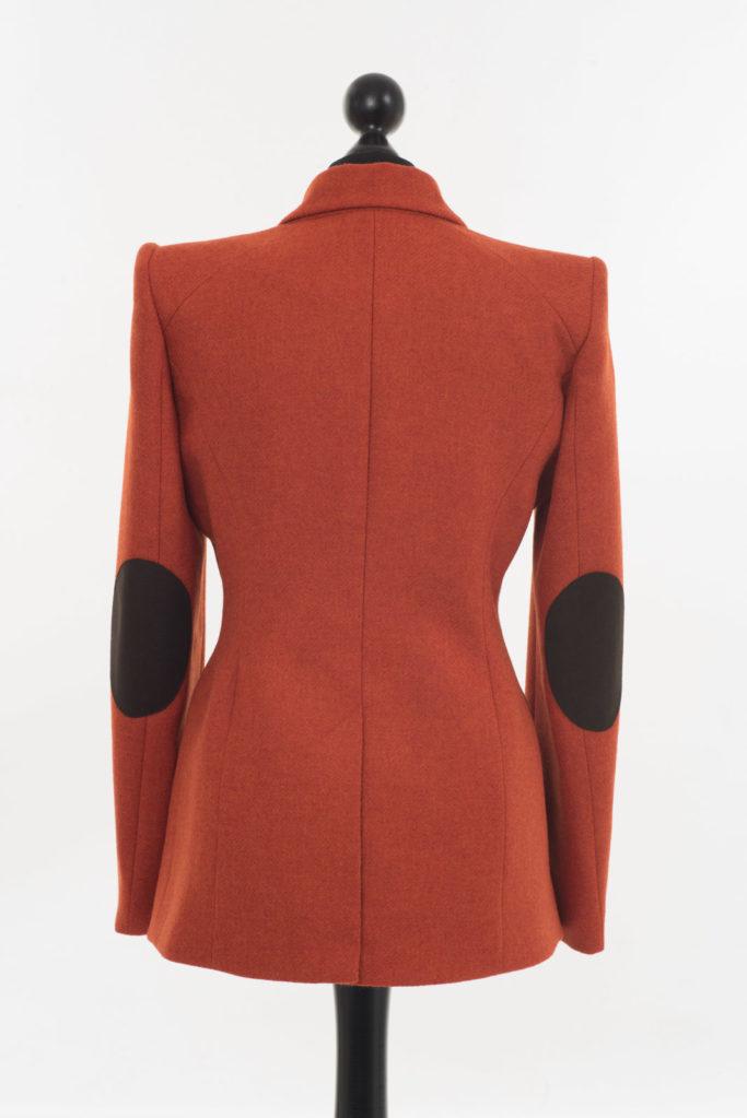 Va Va Voom Jacket – Burnt Orange – Made in England