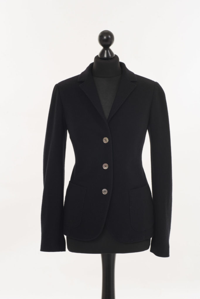 Ladies Cashmere Jacket – Cocktail Black