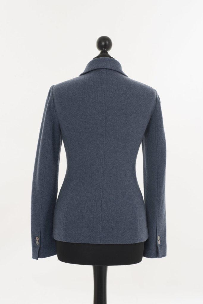 Ladies Cashmere Jacket – Denim Blue