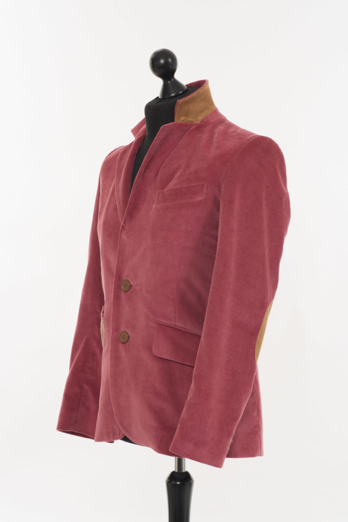Connacht Cord Jacket – Straw Pink Corduroy – Made in England –