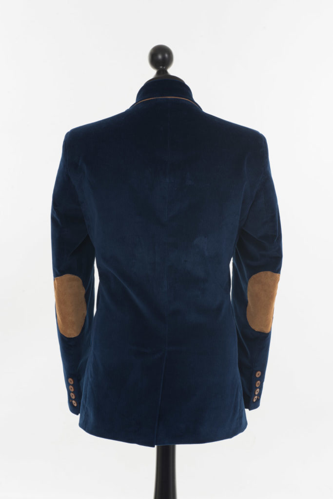 Connacht Cord Jacket – Royal Blue Corduroy – Made in England
