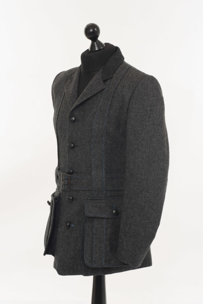 Lucan Norfolk Jacket – Gravel Grey – Made in England