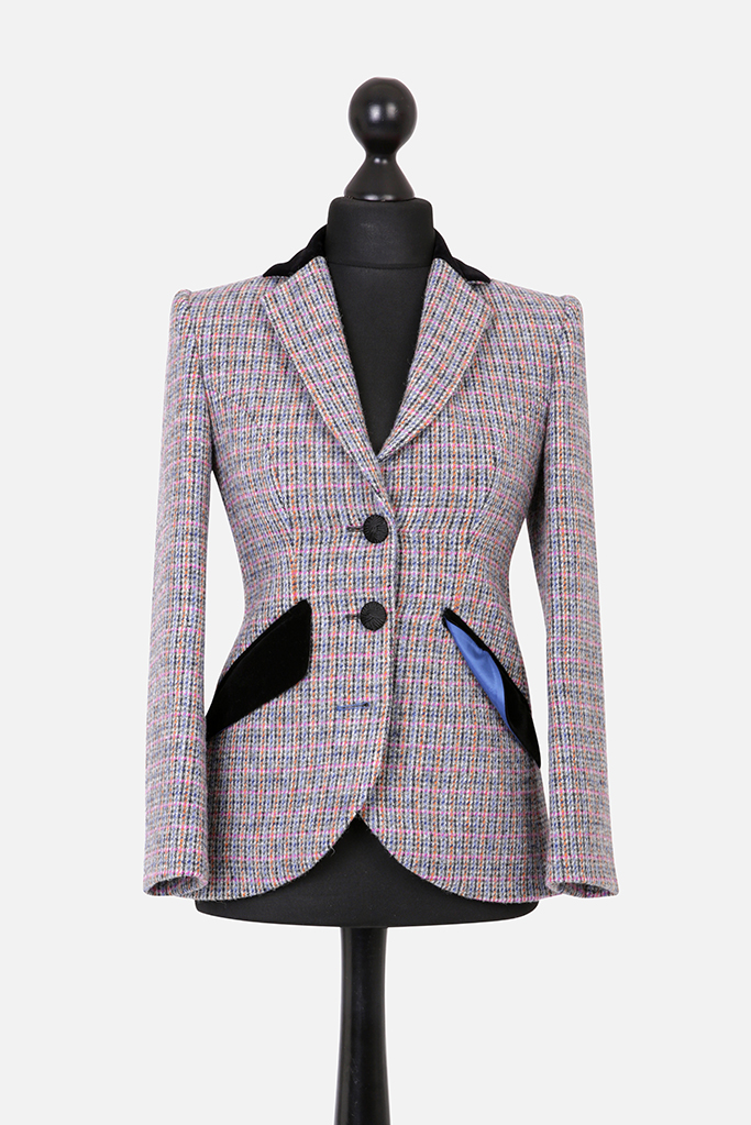 Va Va Voom Jacket – Harris Tweed – Made in England