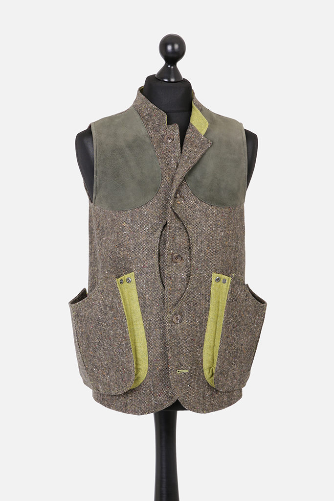 Mens Gilet Vest – Donegal – Made in England