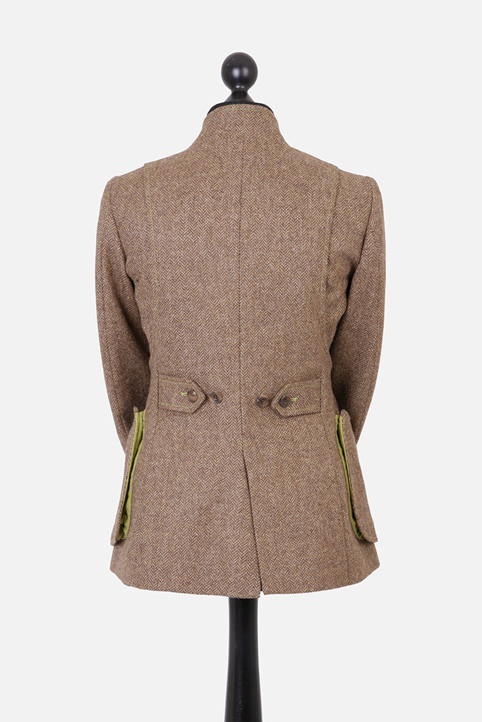 Sligo Jacket – Brown Herringbone – Made in England