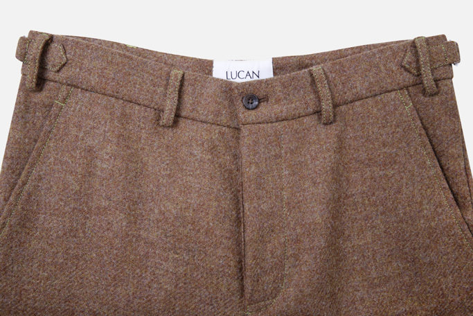 Mens Trouser – Ginger Brown – Made in England