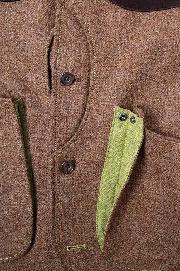 Mens Gilet Vest – Brown – Made in England