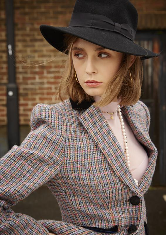 Va Va Voom Jacket – Harris Tweed – Made in England