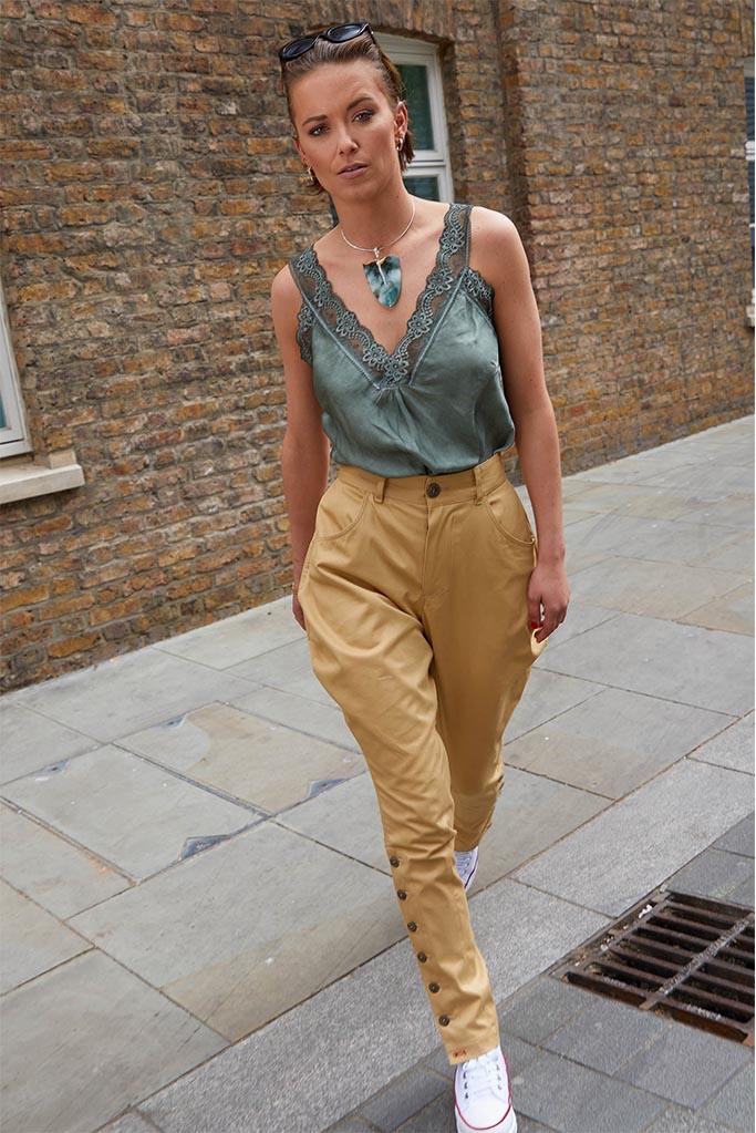 Ladies Urban Jodhpur – Sandstone Cotton Twill – Made in England